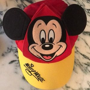 Mickey Mouse hat with ears!